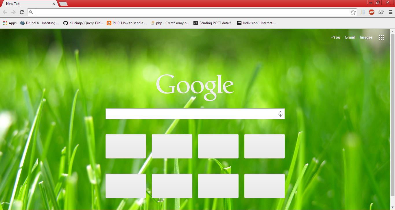 Google chrome theme green - Ankur Test Chrome Theme